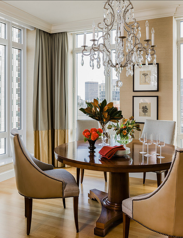 Dining Room. Traditional Dining Room. Terrat Elms Interior Design.