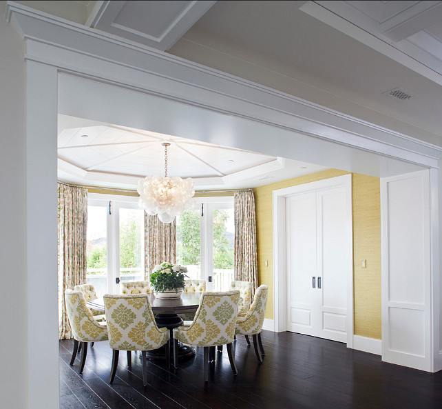 Dining Room. Transitional Dining Room. #DiningRoom #TransitionalInteriors
