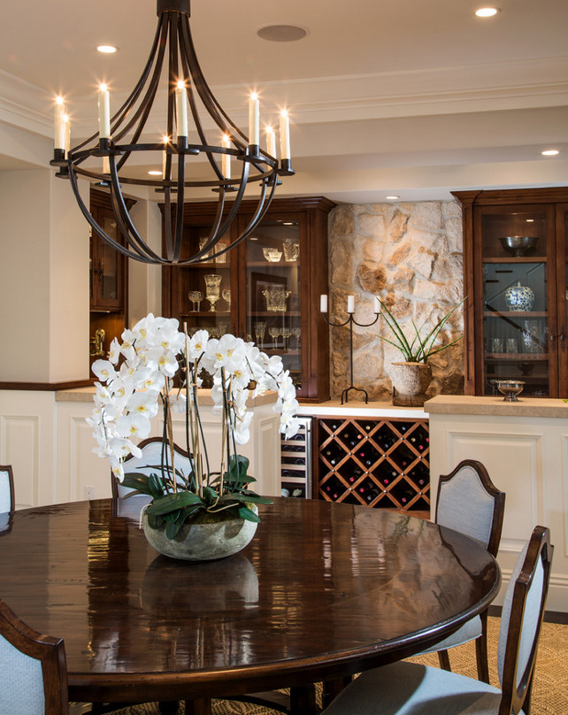 Dining room chandelier. The Chandelier is from Linden Rose & Co. Legacy Custom Homes, Inc.
