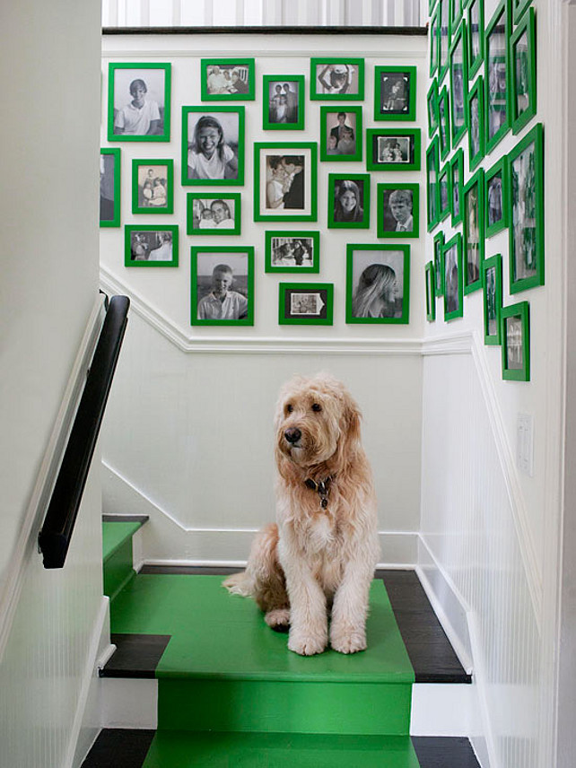 Displaying Your Family Photos. Tips and Tricks to Design a Photo Gallery. Melanie Turner Interiors.