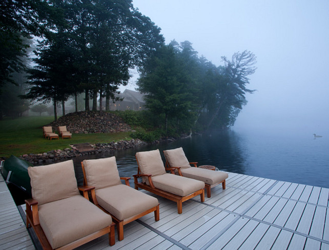 Dock. Boat Dock Ideas. Dock Design. Lake House Dock #Dock John Kraemer & Sons. TEA2 Architects