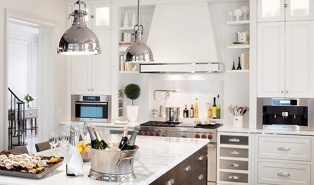 Inspiring kitchens home bunch interior design ideas for Indian kitchen coral springs