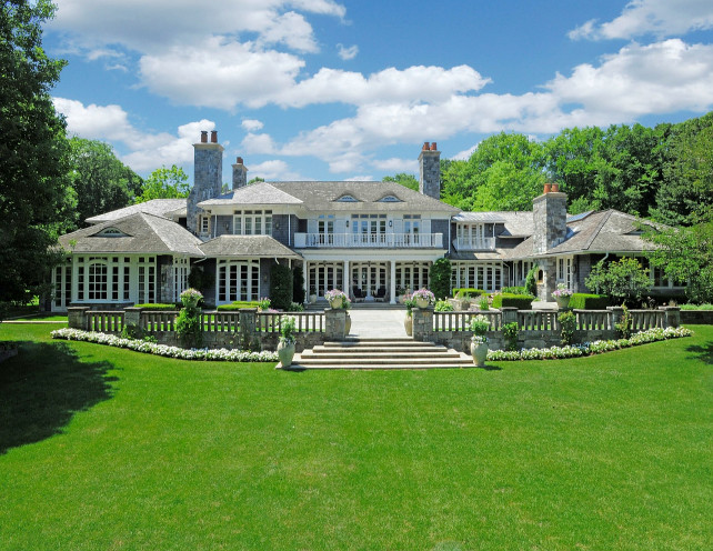 Transitional and Traditional Interior Design Ideas - Home ... on Mansion Backyard Ideas id=83644