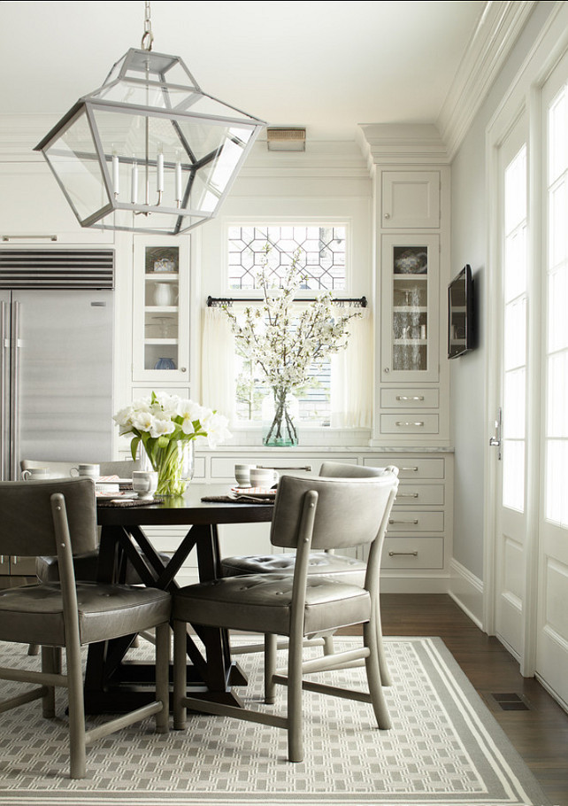 Kitchen dining on pinterest remodels traditional for Kitchen nook lighting ideas