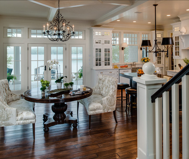 House Interior Design Kitchen: Coastal Home With Traditional Interiors