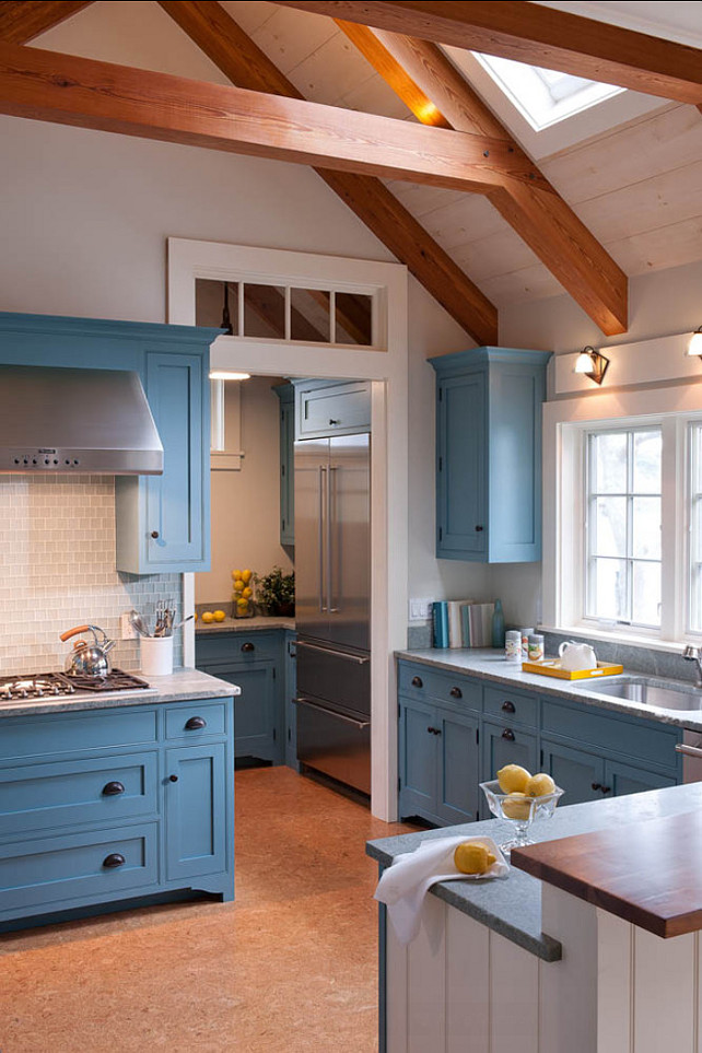 Interior paint color ideas home bunch interior design ideas Blue kitchen paint color ideas