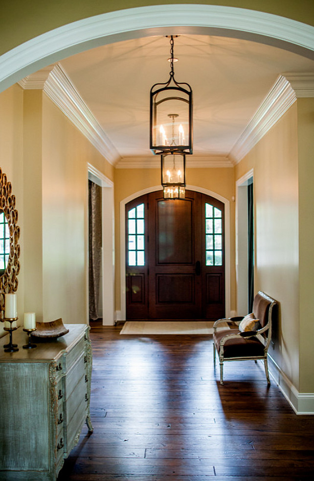 Front Foyer Color Ideas : Transitional family home with neutral interiors