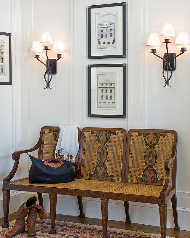 Anita clark design antique bench entryway furniture ideas entryway furniture ideas entryway lighting entryway design entryway