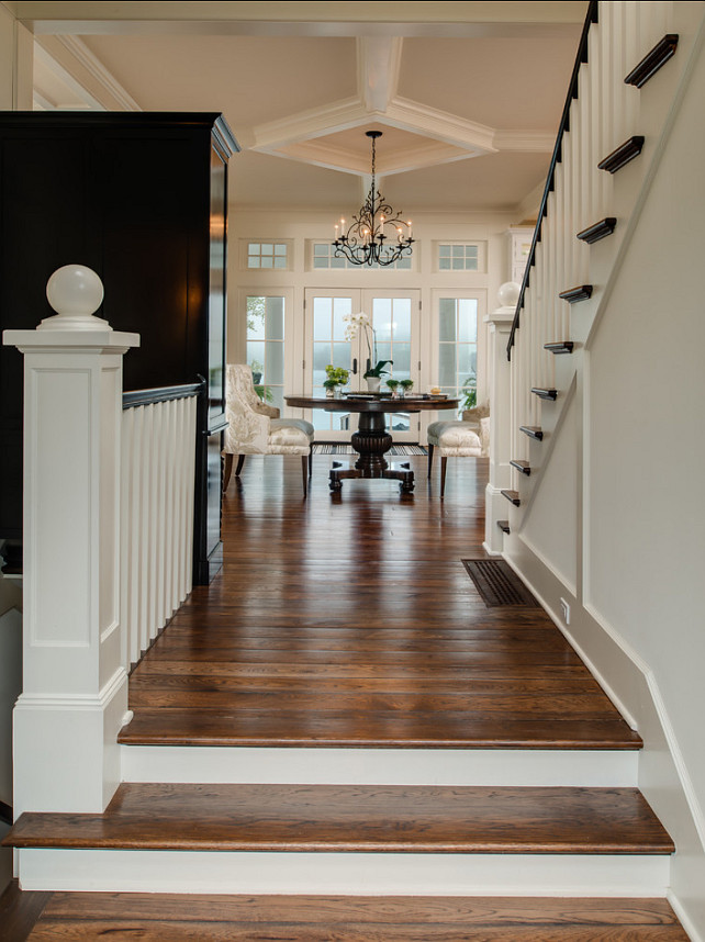 Traditional Foyer Xl : Coastal home with traditional interiors bunch