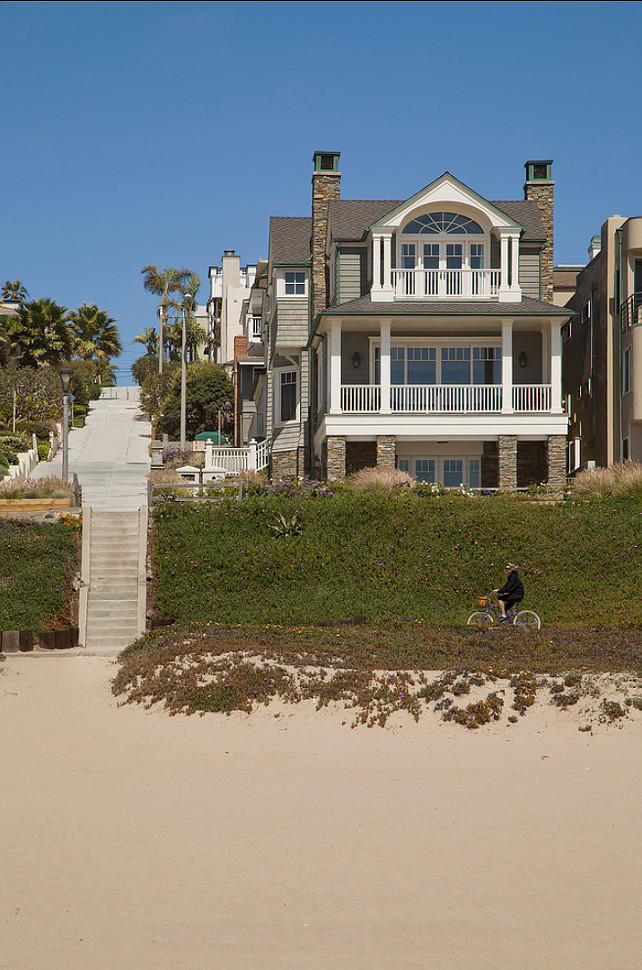 Beach House Design Ideas. #BeachHouses #BeachHouseDesign