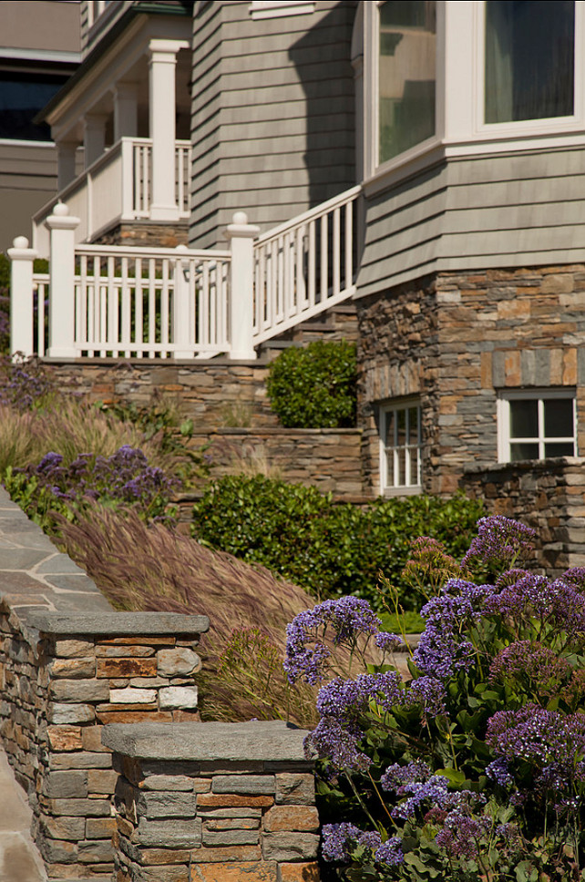Beach House Landscaping. Detail of foreground landscaping. #BeachHouse #Landscaping