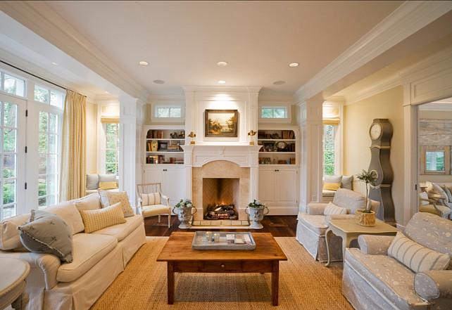 Family Room Ideas. Family Room Furniture Layout. Family Room Decor. #FamilyRoom #FamilyRoomIdeas R.S. Stapleton Company - Custom Cabinetry