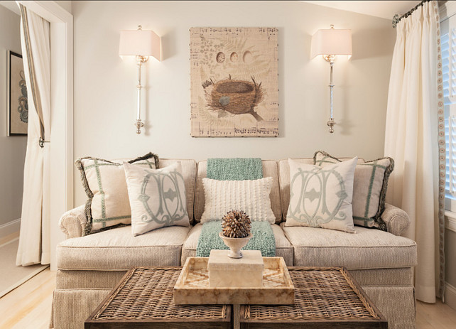Coastal Home with Neutral Interiors - Home Bunch Interior Design Ideas