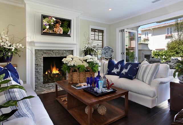 Family Room Design. Family Room Decor Ideas. #FamilyRoom #FamilyRoomDesign & Interior Design Ideas - Home Bunch Interior Design Ideas