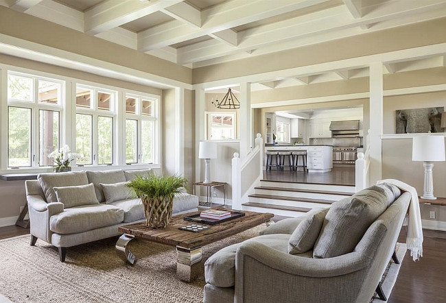 Sunken Family Room FamilyRoom Christies Real Estate