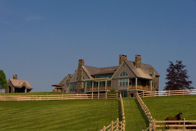 Farm. Beautiful farm with horses. Farmhouse and land. Griffiths Construction, Inc.