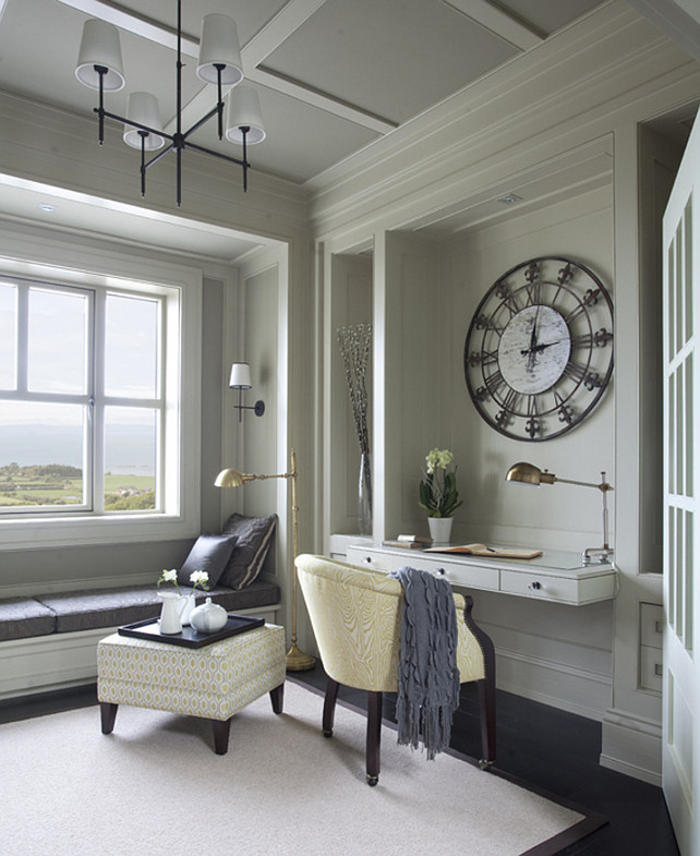 Farrow and Ball Light Grey. Ceiling paint Color is Farrow and Ball Light Grey. #FarrowandBall #LightGrey #FarrowandBallLightGrey