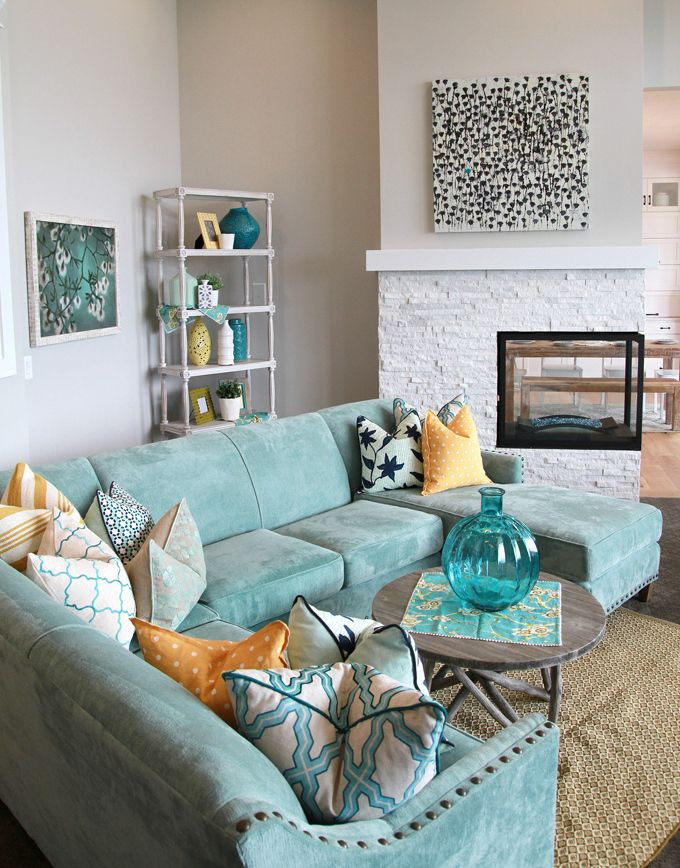 Favorite Turquoise Design Ideas Four Chairs Furniture + Cadence Homes