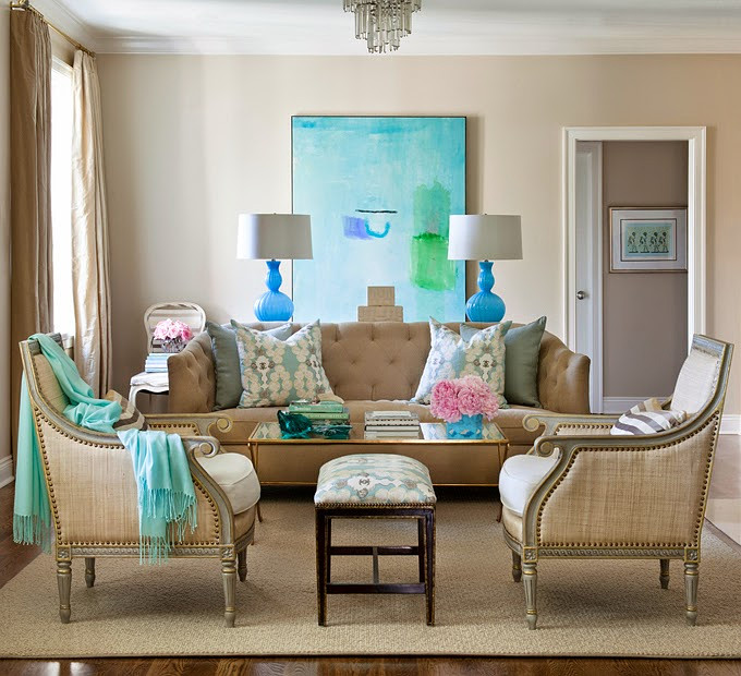 Favorite Turquoise Design Ideas. Tobi Fairley Interior Design.