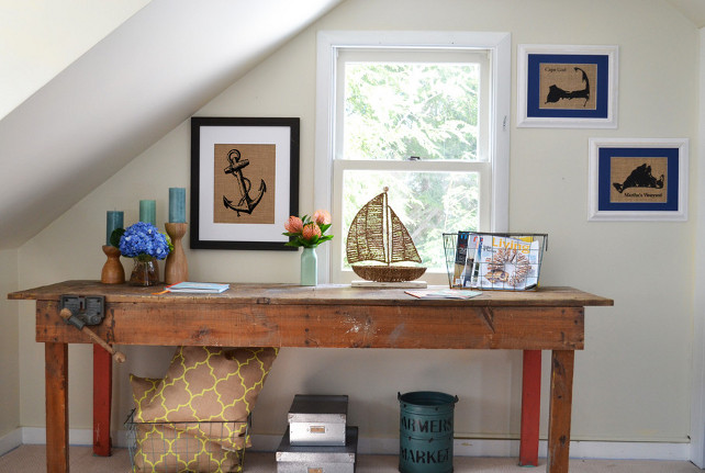 Fiber and Water's Burlap Art for Your Home. Decor Accessories, Pillows, and Art. Hand-crafted on the coast of Maine.