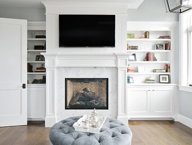 Fireplace Ideas Marble Surround