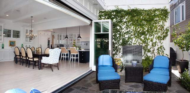 Folding Doors. Patio Folding Door Ideas. Patio Folding Doors. #Patio #FoldingDoors Graystone Custom Builders.