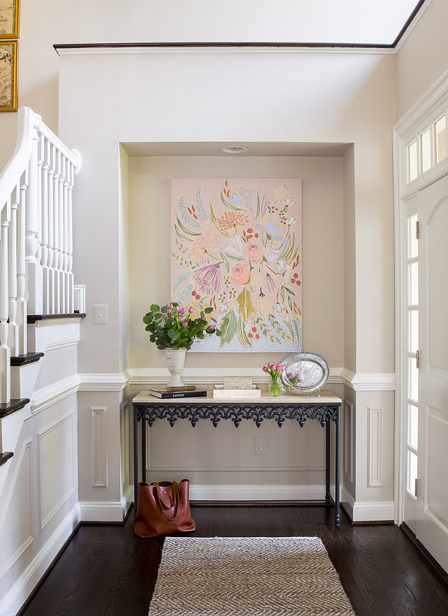Foyer Paint Color Decorating Ideas : Family home with neutral interiors bunch interior