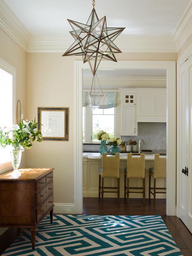 Foyer. Foyer Lighting. Foyer Antique Furniture. Foyer Paint Color. Foyer Rug. Open Foyer. #Foyer EJ Interior Design, Eugenia Jesberg.