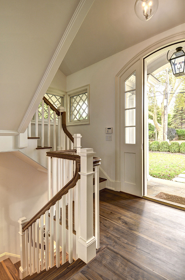 Foyer. Foyer Millwork. Foyer Flooring. Small Foyer. Foyer Flooring. Foyer Door. Foyer Staircase. #Foyer John Hummel and Associates