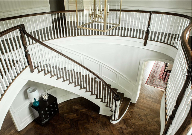 Foyer. Grand Foyer Design. Foyer Staircase. #Foyer #GrandFoyer #FoyerStaircase #Stairwell  Dubinett Architects, llc.