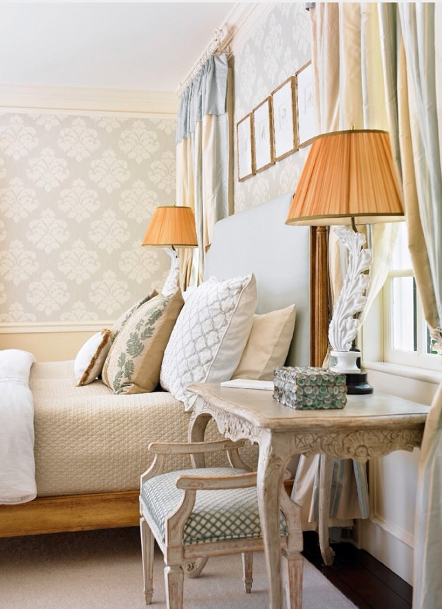 French Bedroom. French Bedroom Ideas. #FrenchBedroom  Liz Williams Interiors.