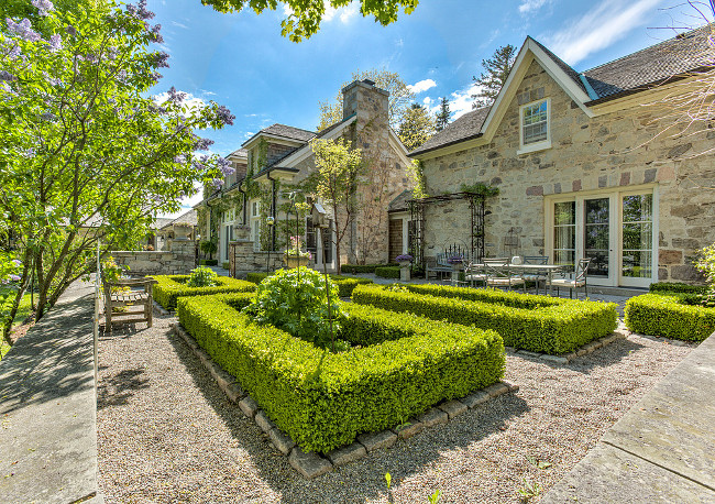 French Country Home. French Country Home Backyard. Traditional French Country Home. #FrenchCountryHome Sotheby's Canada.