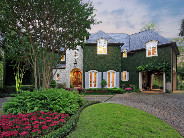 French Home Exterior Ideas #FrenchHome #FrenchHomeExterior Via Sotheby's Homes