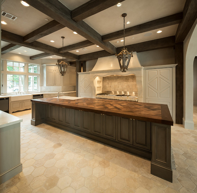 French Kitchen Design #FrenchKitchen #FrenchKitchenDesign Thompson Custom  Homes.