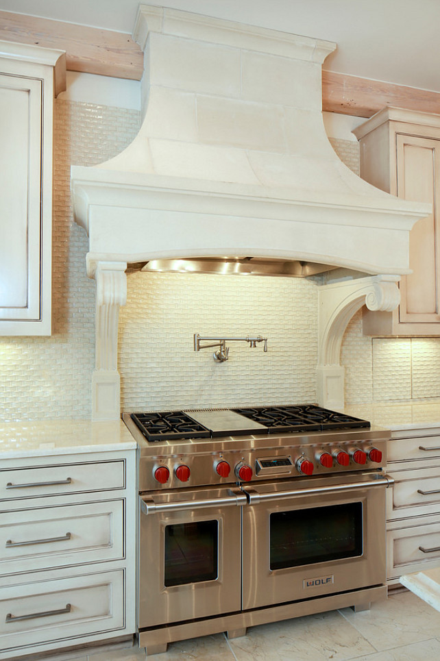 French Kitchen Hood Ideas. #FrenchKitchen #FrenchKitchenHood #KitchenHood French Kitchen Hood