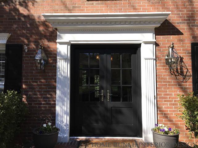 Front Door Decor Ideas. Replacing Front Door Ideas. Front Door is by Pella. #FrontDoor #ReplacingFrontDoor Home Bunch Interior Design.