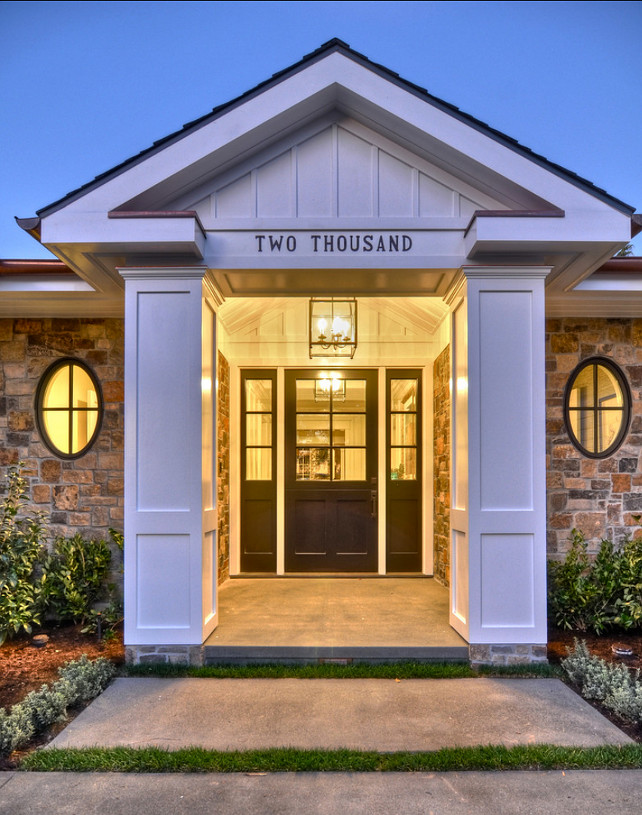 Beau Ranch Style Home With Transitional Coastal Interiors. Front Door Design  Ideas. Modern Front Door. #FrontDoor #FrontDoorIdeas