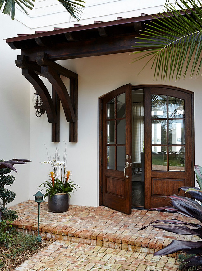 Front Door. Custom Wood Front Door. Wood front door. Wood and glass front door. Glass panel front door. #FrontDoor #Door #Custom #Door #Wood #Glass JMA Interior Design.