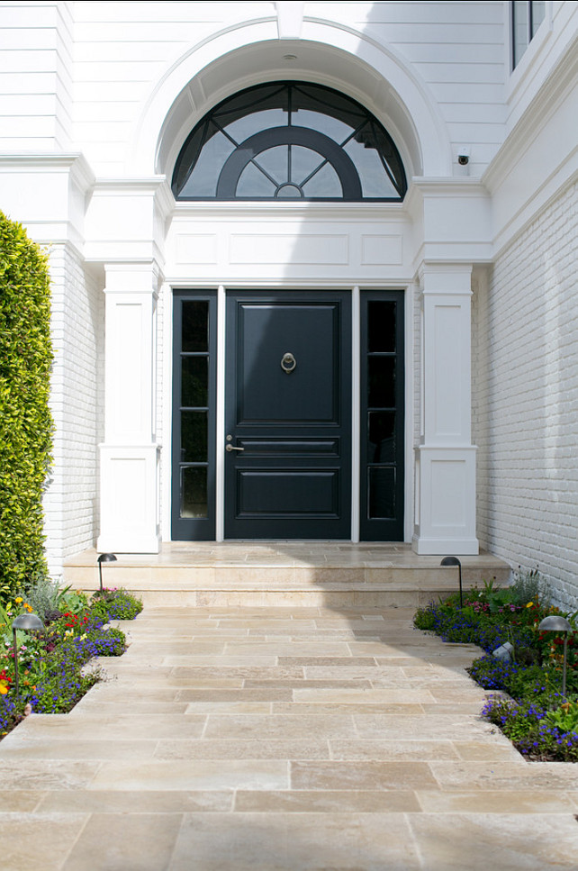 Front Door. Front Door Ideas. Classic Front Door. #FrontDoor