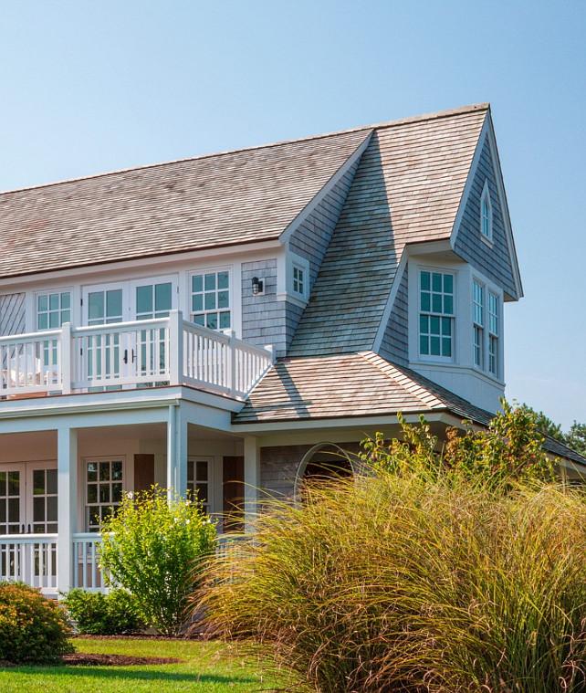 Shingle Garden Designs: Cape Cod Shingle Beach House With Coastal Interiors