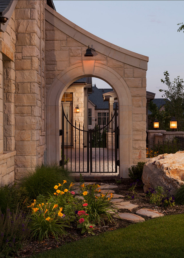 Gate. Exterior Gate Ideas. Garden Gate. THINK architecture Inc.