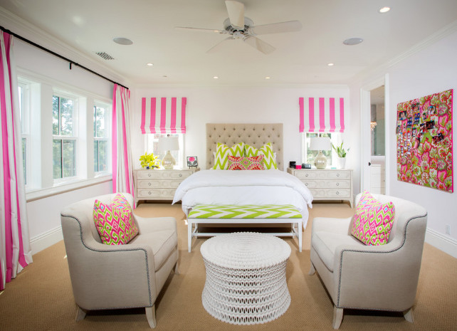 Girls Bedroom. Teen Girls Bedroom. Teen Girls Bedroom Design. Legacy Custom Homes, Inc.