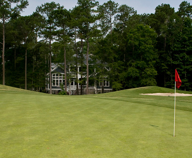 Golf Course Homes. Golf Course Home Ideas. Golf Course Home Exterior. Golf Course Homes. #GolfCourseHomes Blue Sky Building Company.