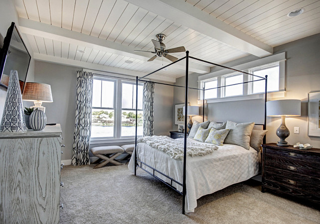 Gray Bedroom. Gray Bedroom Ideas. Gray Bedroom Paint Color. #GrayBedroom Dwellings Inc.