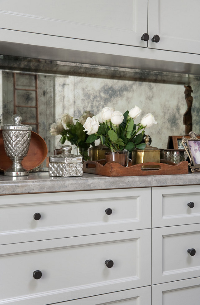 Gray Cabinet Hardware #GrayCabinetHardware Jessica Risko Smith Interior Design.