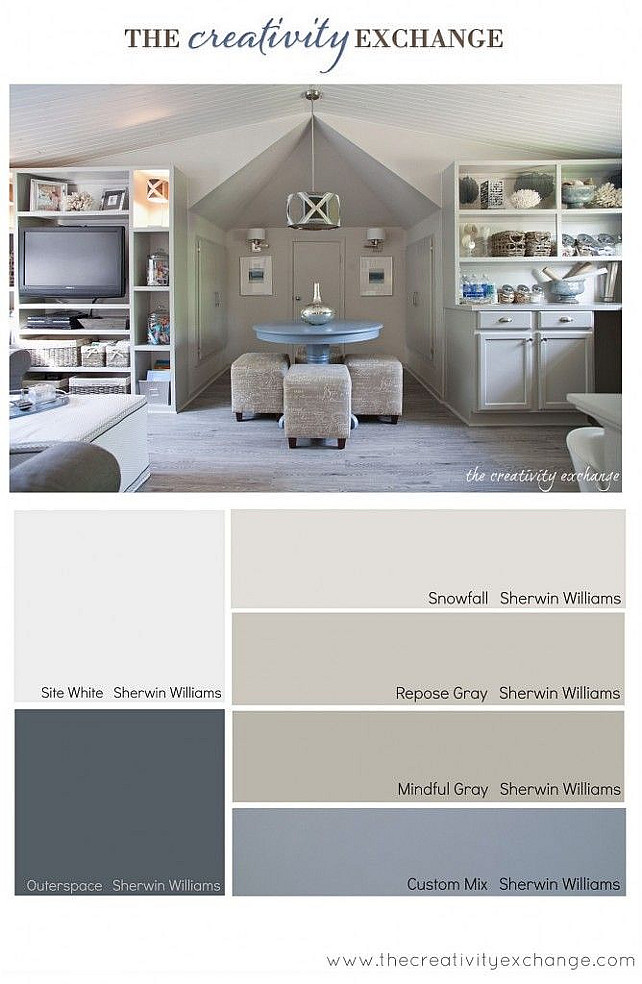 Interior paint color color palette ideas home bunch for Color palette for home interiors