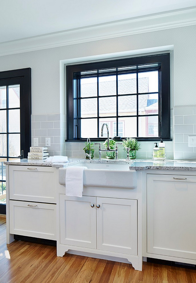 Gray Glass Subway Tile Backsplash The In This Kitchen Is A 4 X