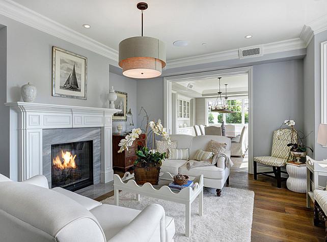 California Family Home with Transitional Coastal Interiors ...