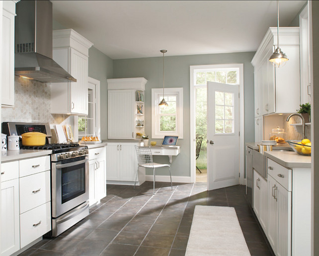 Paint Color Ideas Home Bunch Interior Design Ideas - Gray paint colors for kitchen walls