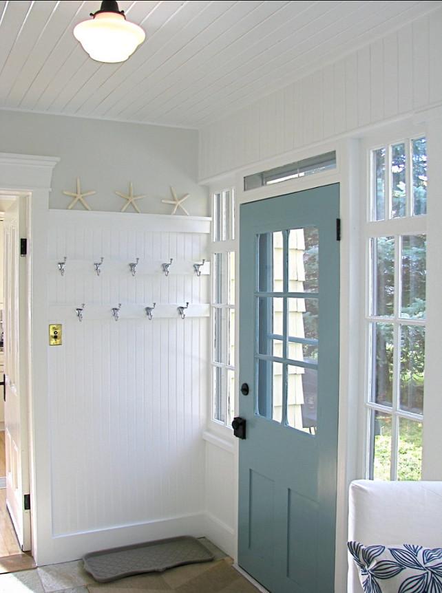 Blue bathroom paint colors cottage bathroom benjamin moore - Kleur Je Voordeur